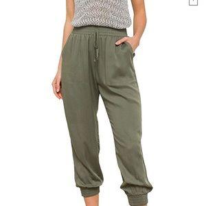 Olive Fashion Joggers